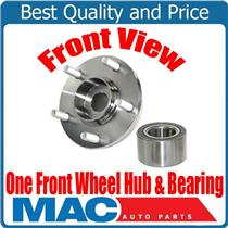 (1) 100% New Front Wheel Hub & Bearing 63090K for Hyundai Santa Fe 01-06