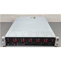 HP DL560 G8 Server Xeon 4x E5-4650 32-Core 2.7GHz 16x16GB 256GB RAM 2x 300GB