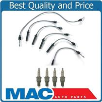 100% New Ignition Spark Plug Wire Set With Plugs for 86-95 Caravan 2.2L 2.5L