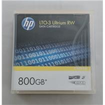 Brand New HP LT03 Ultrium RW Data Cartridge 800GB C7973A Tape