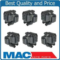 100% New 6 Pack Ignition Coils for Mercedes-Benz C240 2001-2005