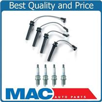 100% New Spark Plug Wire Set + NGK Plugs for 02-06 Mini Cooper  1.6L