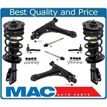00-05 Cavalier Sunfire Frt Complete Spring Strut and Mount Control Arms 10Pc Kit