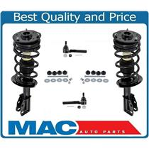 00-05 Cavalier Sunfire Front Quick Spring Strut and Mount Control Arms 6Pc Kit