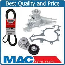100% New Leak Tested Water Pump Belt & Belt Tensioner for 05-10 Mustang 4.0L New
