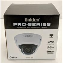Uniden Professional 4.0-Megapixel IP Tamperproof Fixed Dome Camera 4MTPD-2.8