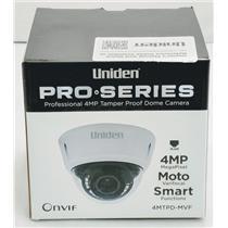 Uniden Professional 4.0-Megapixel IP Tamperproof Varifocal Dome Camera 4MTPD-MVF