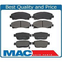 06-11 Ridgeline 09-14 TL Quiet Stop Front & Rear Brake Pads CD1102 CD1103