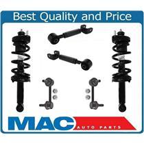 Rear Struts Upper Arms & Sway Bar Links For Honda CR-V 12-14 ALL Wheel Drive AWD