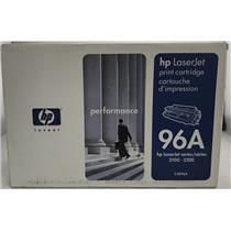 New HP C4096A Black Original Toner 96A LaserJet 2100 2200 Genuine OEM