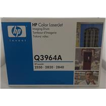 Brand New HP Color LaserJet 2550, 2820, 2840 Series Imaging Drum Q3964A