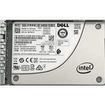 """Dell Intel DS S4600 SATA III 6 Gbps 480GB SSD 2.5"""" P7KTJ SSDSC2KG480G7R"""