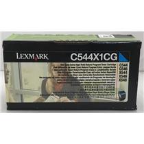 Lexmark Cyan Tonner For C544 C546 X544 X546 X548 C544X1CG