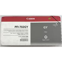 Canon Ink Tank GY 700ml Gray Ink PFI-702GY iPF8100 iPF9100