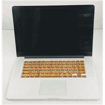 """Apple Macbook Pro MJLT2LL/A 15"""" i7-4870HQ 2.5GHz 512GB SSD 16GB Mid 2015"""