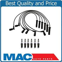 100% New Ignition Wires & Spark Plugs Chevrolet Silverado 1500 4.3L 2007-2013
