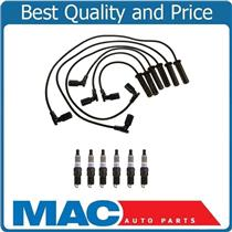 100% Brand New Ignition Wires and Spark Plugs for Saturn Aura 2007-2008 3.5L