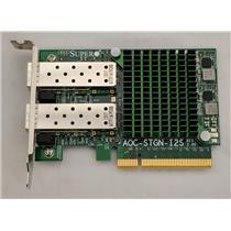 SuperMicro AOC-STGN-I2S 10GB Ethernet Card PCIe Fiber Controller Card Low Pro