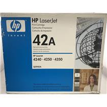 Brand New HP LJ4250/435010K BLACK TONER Q5942A