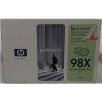 Brand New HP LaserJet 98X Black High Capacity Toner Cartridge 92298X