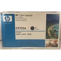 Brand New OEM HP 641A Color LaserJet C9720A 4600 4610 4650 Black Toner Cartridge