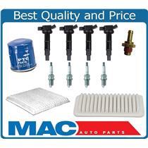 100% New Coils Plugs Air Oil Filter Cabin Air Filter for Scion tC TC 2.4L 05-09