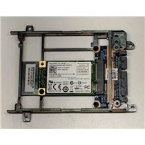 "Dell 128GB mSATA Solid State Drive 921PN Lite-On LMT-128L9M w/ 3.5"" Adapter"