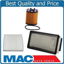 100% New Air Filter Cabin Filter Oil Filter for 12-17 Turbo Fiat 500 1.4L 3pc