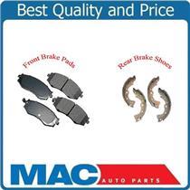 03-06 Sentra 1.8L  Front Ceramic Pads & Organic Brake Shoes