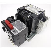 Square D 8536SBO2H30S AC Magnetic NEMA Motor Starter with S-State Overload Relay