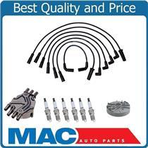 100% New Ignition Wires Spark Plugs Distribuitor Cap Rotor Safari Van 1998-2005