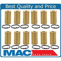 12 100% New Oil Filter for 05-09 Audi A4 / 06-08 A3 2.0L 12 Pack