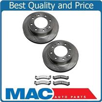 (2) 8 Stud 55056 Disc Brake Rotor With CFD784 Extra Duty Ceramic Pads