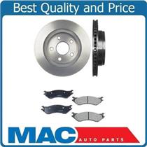 (2) Front Brake Rotors & Ceramic  Pads 53005 CD966 For Dodge Durango 04-06
