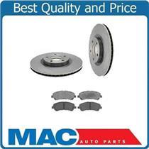 (2) Front Brake Rotors & Ceramic Pads 31375 CD888 Fits 013-014 Murano