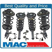 02-03 Maxima F & R Complete Loaded Coil Spring Front Sway Bar Links Ball J 10Pc