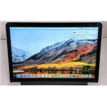 """Apple Macbook Pro MJLT2LL/A 15.4"""" i7-4870HQ 2.5GHz 512GB SSD 16GB AMD R9 M370X"""