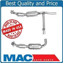01-02 Ford F150 5.4L Rear Wheel Drive 4R70W Trans Code L/R Catalytic Converters