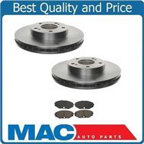(2) Front Brake Rotors & Premium Ceramic Pads Will Fit Infiniti 90-96 Q45