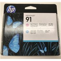 HP 91 Light Magenta and Light Cyan Printhead C9462A