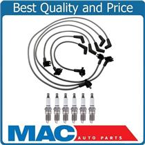 100% New Ignition Wires & Spark Plug for Ford Mustang 3.8L V6 from 01/99-00