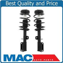 (2) 100% New FRONT Complete Coil Spring Struts For 3.0L 01-05 BMW 3.0i X5 E53
