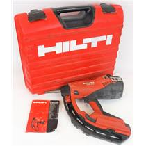 Hilti GX120 Gas Actuated Fastening Nailer Tool SN 022205 PARTS NOT WORKING