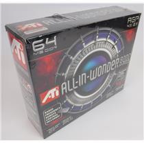 New NIB ATi Radeon 9000 PRO 64MB AGP 2X 4X Graphics Card W/ TV Tuner & Remote