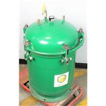 Buckeye Green Tennis Machine Rebounces Ball Repressurizer