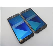 Dealer Lot Of 2 Samsung Galaxy J3 Prime SM-J327T1 16GB Smartphones - Metro PCS