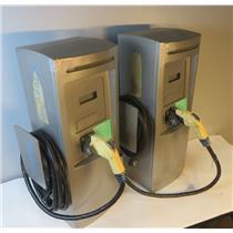 Lot Of 2 GE Durastation Commercial EV Charging Stations MODEL EVWN3 - UNTESTED