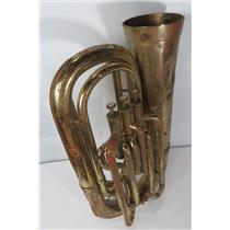 Willson Euphonium Swiss Made Horn UNKNOWN MODEL SN 11471 - DENTS & MISSING PARTS