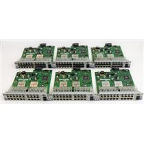 Lot of 6 Hewlett Packard J4908A ProCurve Gig-T/GBIC Gl Module