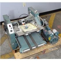Baumfolder 714 Tabletop Friction Feed Air Folder Machine w/ Vacuum Air Pump